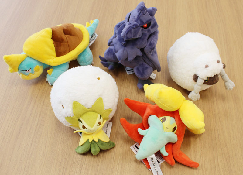 POKEMON CENTER WOOLOO, CORVIKNIGHT, DREADNAW, GOSSIFLEUR, DAN ELDEGOSS PLUSHIES SIAP PRE-ORDER